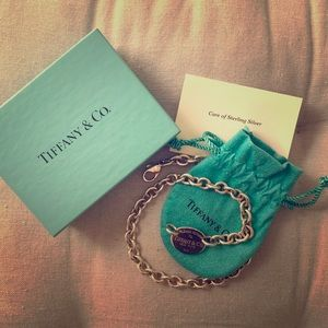Tiffany & Co. Sterling Silver Choker Necklace